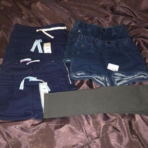 18 month shorts and 1 pair of leggings